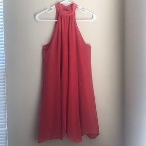 High-neck Dress